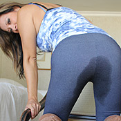 Miss Jasmine panty wetting pissing