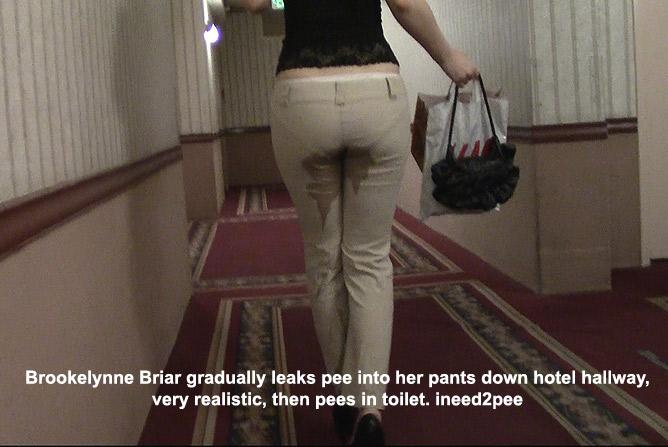 brookelynne briar peeing her pants